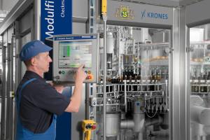 Produktion-Bier-Flaschen-Abfüllung