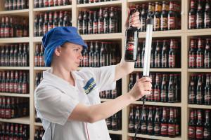 Produktion-Bier-Labor-Prüfung